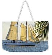 Sailing On The Adirondack In Key West Weekender Tote Bag