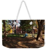 Adirondack Chairs 2 - Davidson College Weekender Tote Bag