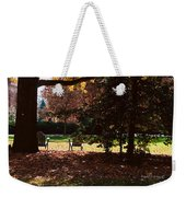 Adirondack Chairs-3 - Davidson College Weekender Tote Bag