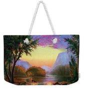 Adirondacks Sunset Weekender Tote Bag