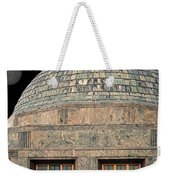 Adler Planetarium Signage Weekender Tote Bag