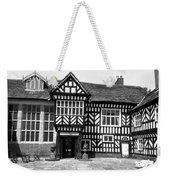Adlington Hall Courtyard Bw Weekender Tote Bag