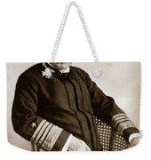 Admiral Of The Navy George Dewey Seen In 1899 On The Uss Olympia Weekender Tote Bag