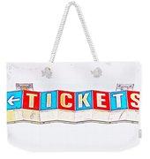 Admission Weekender Tote Bag