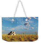 Adobe House Weekender Tote Bag