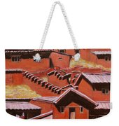 Adobe Village - Peru Impression II Weekender Tote Bag