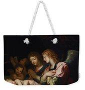 Adoration Of The Angels Weekender Tote Bag