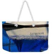 Adrift On The Deep Blue Weekender Tote Bag