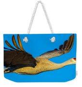Adult Sandhill Crane Weekender Tote Bag