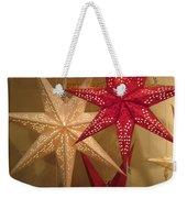 Advent Stars Weekender Tote Bag