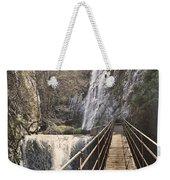 Adventure Retro Bridge Weekender Tote Bag
