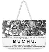 Advertisement: Buchu, 1871 Weekender Tote Bag