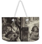 Advertisement For Cadburys Drinking Cocoa Weekender Tote Bag by English School