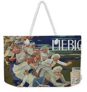 Advertisement For Extractum Carnis Liebig Weekender Tote Bag