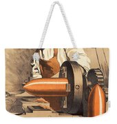 Advertisement For War Loan From World War I Weekender Tote Bag