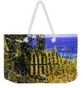 Aegean View Weekender Tote Bag