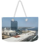 Aerial Of Revel On The Oceanfront Weekender Tote Bag