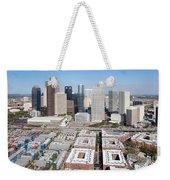 Aerial Of The Houston Skyline Weekender Tote Bag