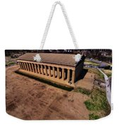 Aerial Photography Of The Parthenon Weekender Tote Bag