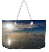 Aerial Sunrise Over Florida Keys Weekender Tote Bag