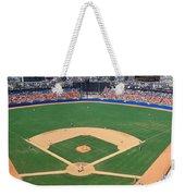 Aerial View Of A Stadium, Dodger Weekender Tote Bag