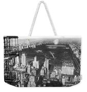 Aerial View Of Central Park Weekender Tote Bag