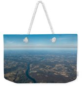 Aerial View Of Earth In Usa Weekender Tote Bag