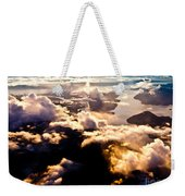 Aerial View Of Pacific Coast Of Bc Canada Weekender Tote Bag