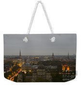 Aerial View Of Riga Weekender Tote Bag