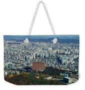 Aerial View Of Seoul South Korea Weekender Tote Bag