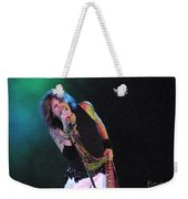 Aerosmith - Steven Tyler -dsc00139-1 Weekender Tote Bag