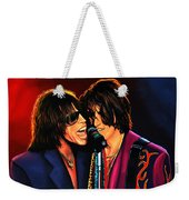 Aerosmith Toxic Twins Painting Weekender Tote Bag