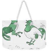 Aesop: Cocks Fighting Weekender Tote Bag
