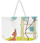 Aesop: Fox And Grapes Weekender Tote Bag