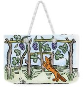 Aesop The Fox & The Grapes Weekender Tote Bag