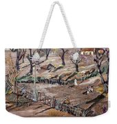 Affect Of Global Warming Weekender Tote Bag