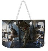 Afghan Air Force Members Weekender Tote Bag