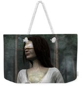 Afraid Of The Dark Weekender Tote Bag