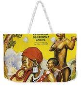 Africa Speaks Weekender Tote Bag