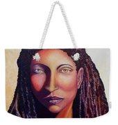 An African Face Weekender Tote Bag