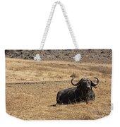 African Buffalo V2 Weekender Tote Bag