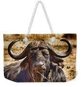 African Buffalo V3 Weekender Tote Bag