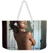 Chynna African American Nude Girl In Sexy Sensual Photograph And In Color 4788.02 Weekender Tote Bag