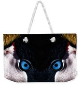 African Crowned Crane X2 Weekender Tote Bag