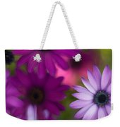 African Daisy Collage Weekender Tote Bag
