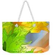 African Daisy I - Digital Paint Weekender Tote Bag