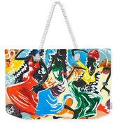 African Dancers No. 2 Weekender Tote Bag