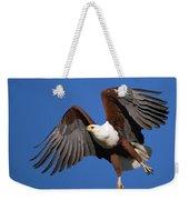 African Fish Eagle Weekender Tote Bag