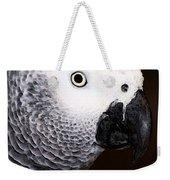 African Gray Parrot Art - Seeing Is Believing Weekender Tote Bag