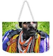 African Look Weekender Tote Bag